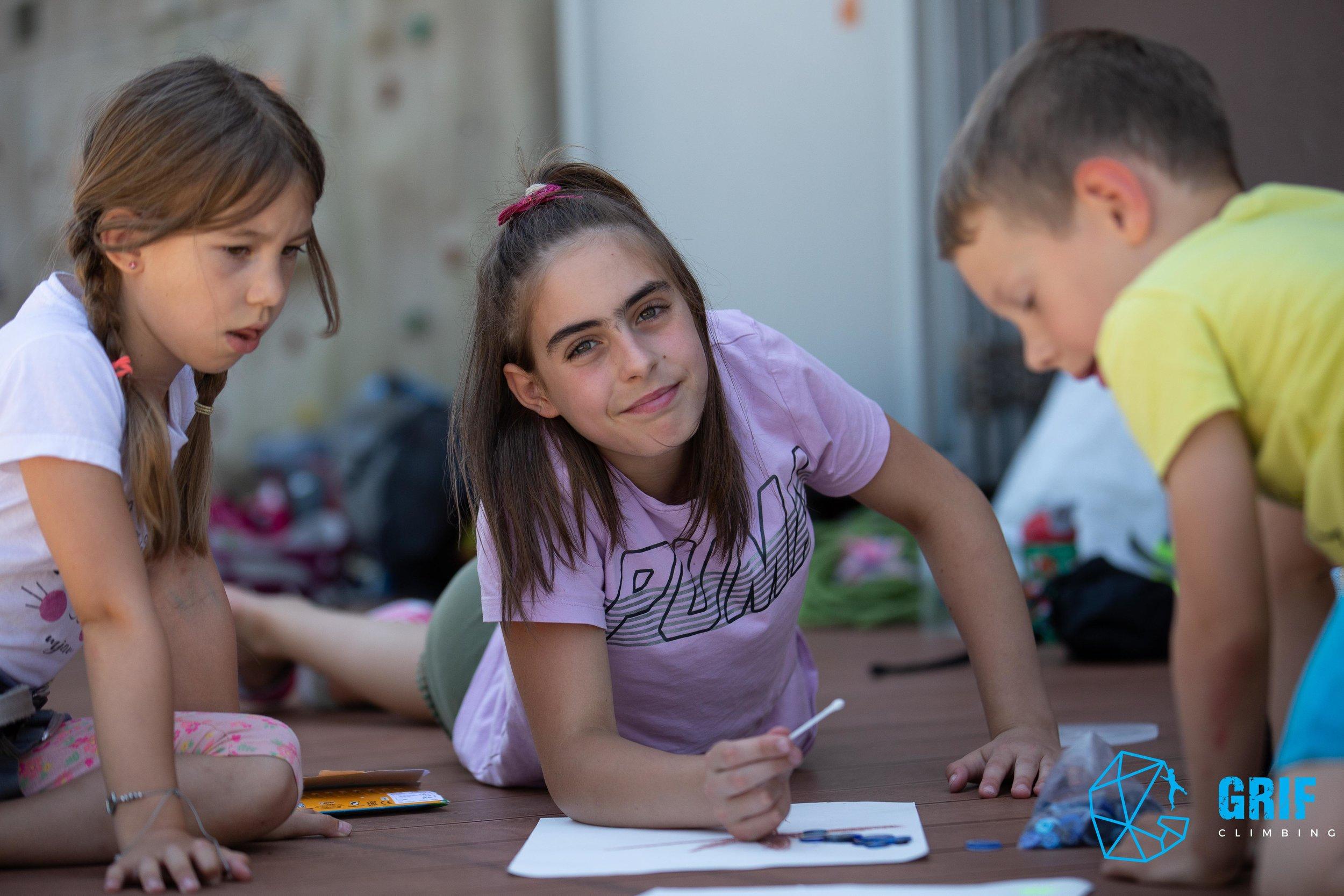 Aktivno počitniško varstvo za otroke Plezalno društvo Grif66.jpg