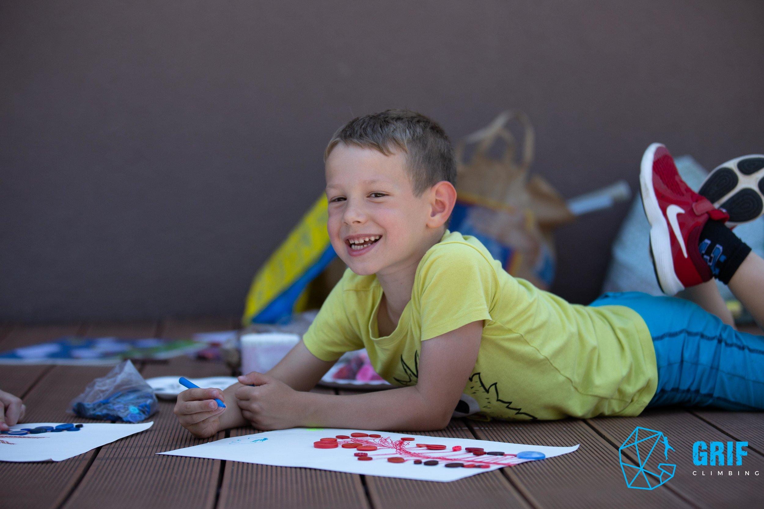Aktivno počitniško varstvo za otroke Plezalno društvo Grif68.jpg
