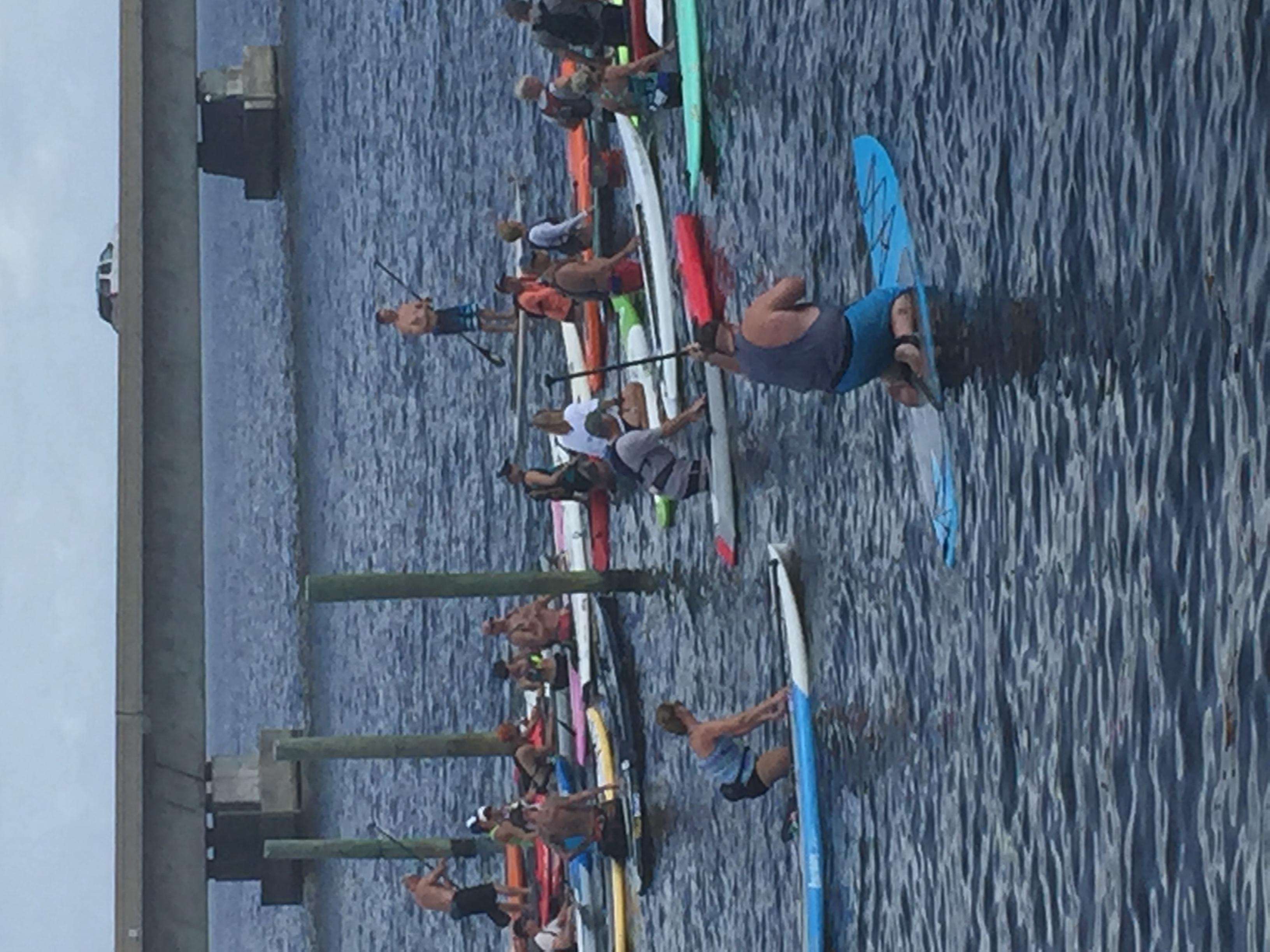 GUSU Destin, FL race, water start June 2015