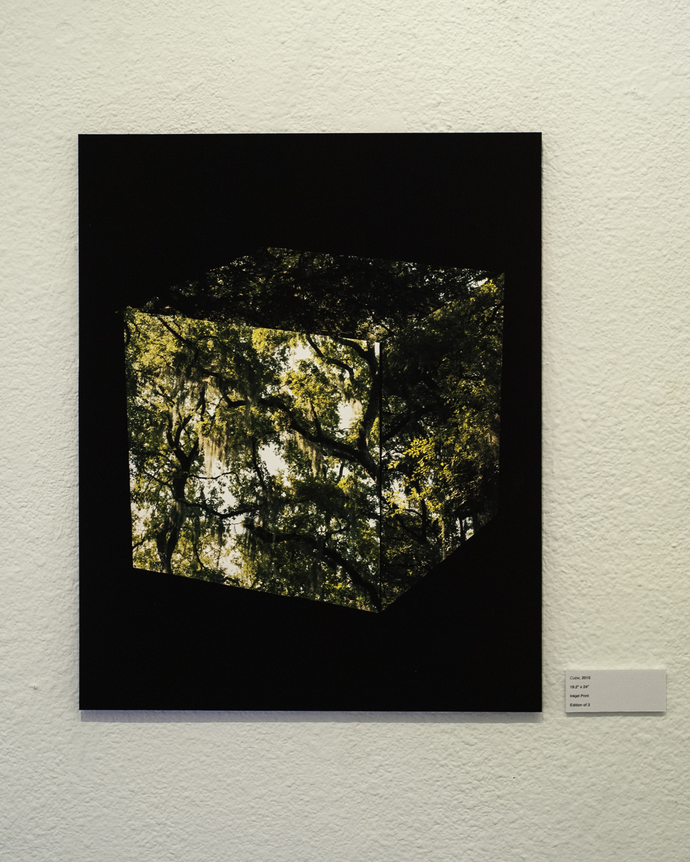 "Cube , 2015  Digital Inkjet Print  19.2""x24"""