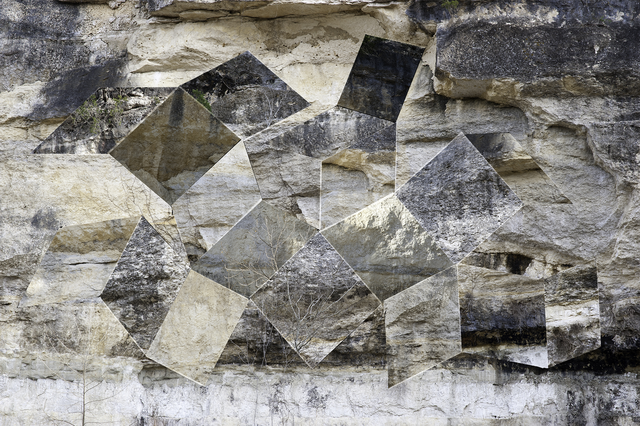 Digital Matte No. 6 (Limestone),  2016