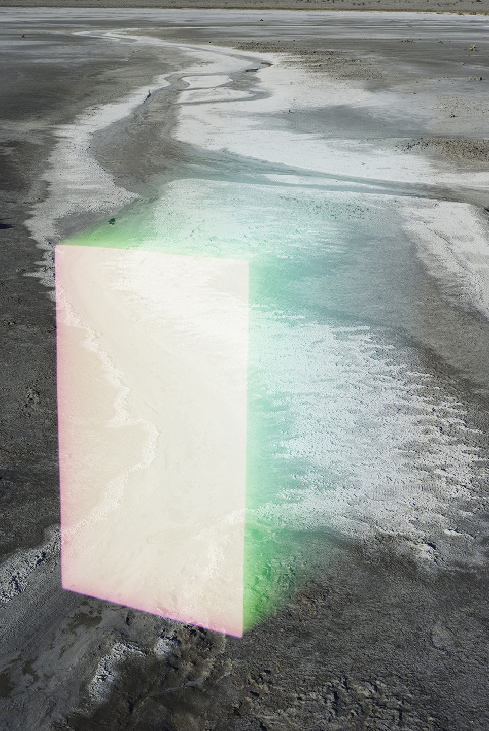 Digital Overlay No. 19 (Salt Flat) , 2016