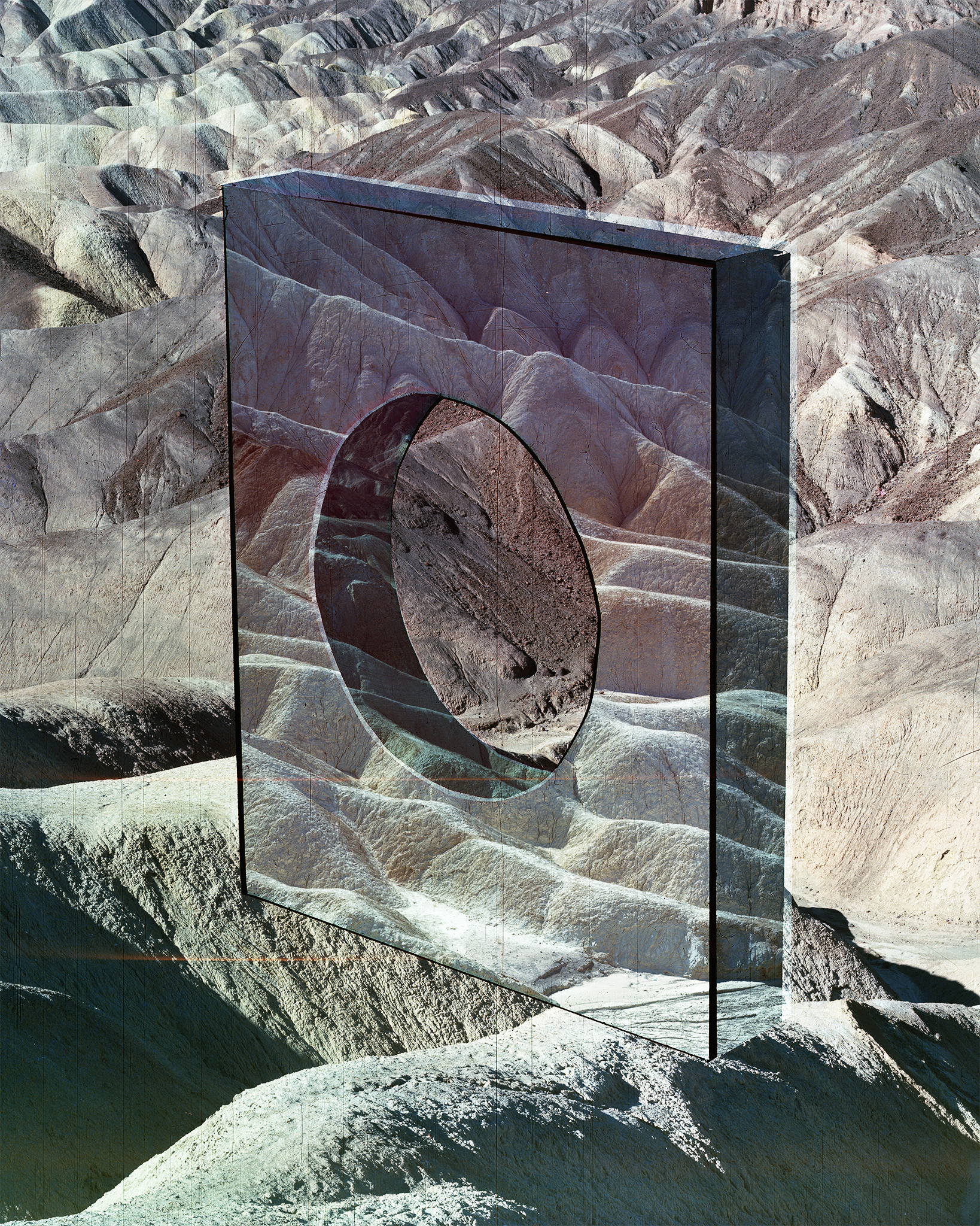 Analog Matte #069 (Zabriskie Point) , 2019