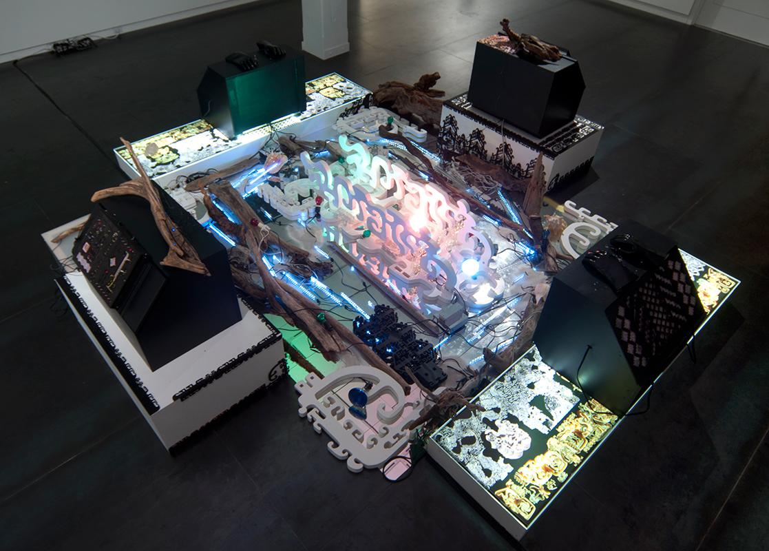 Liquid Hand  Installation, on view  November 7 – 30, 2013 .