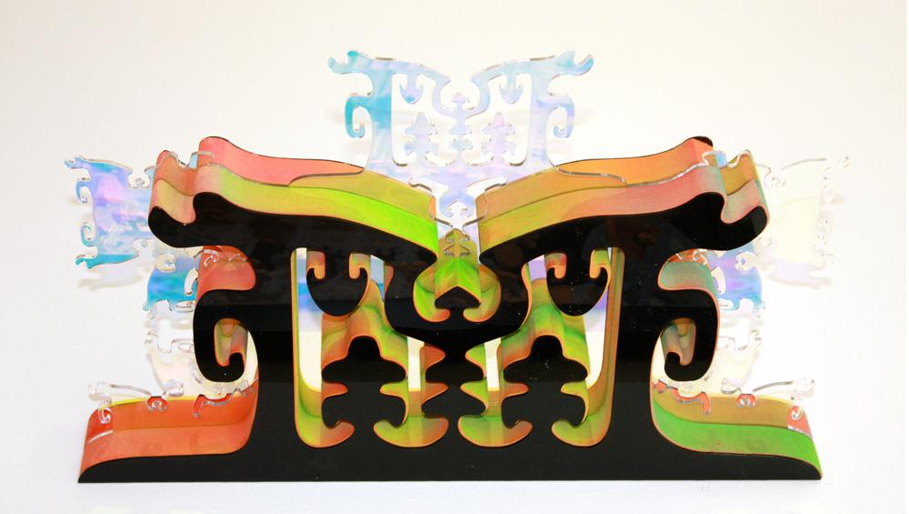 Brenna Murphy  Domain Terrace No. 1 , 2014 plexiglass, MDF, paint