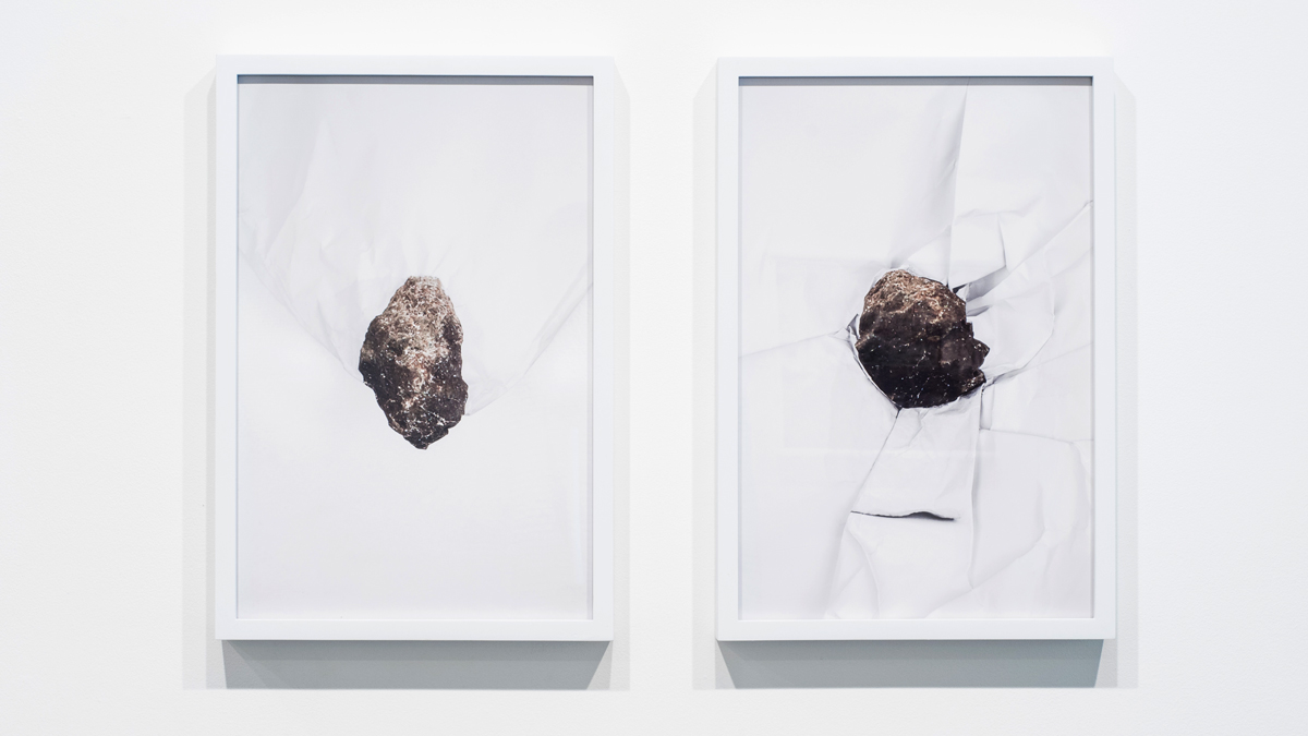 Max Cleary   To See You Again , 2015 digital photographic print (diptych),21.5 x 14.5 x 2 inches (each, framed),edition of 3 plus 1 AP