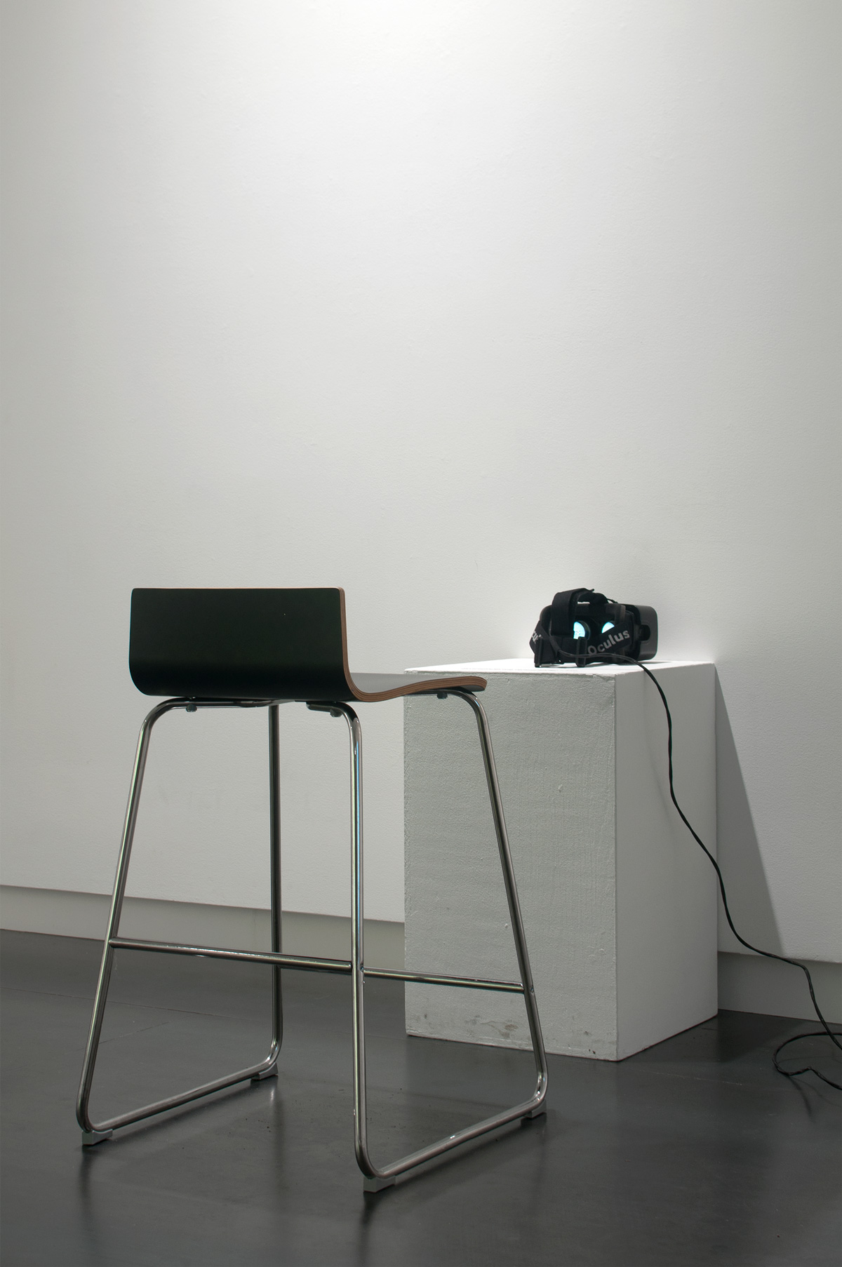 Ascension (@Upfor)  (installation), 2015 site-specific virtual reality software, headset Available on commission basis only.