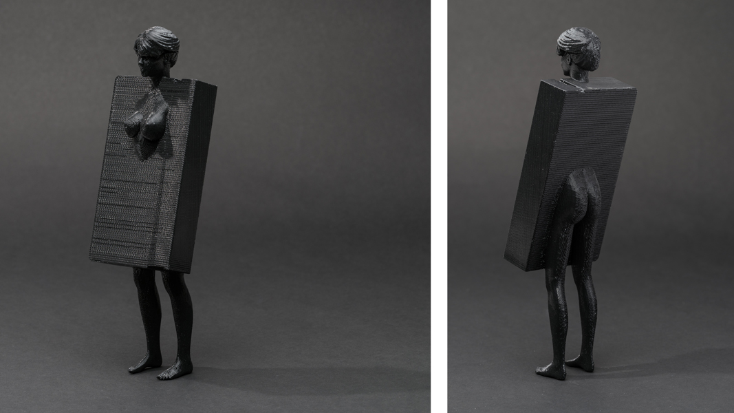 Dark Matter (First Series): #barbie #vhs , 2013 3D printed plastic, 8 x 2.75 x 1.75 inches (approx.) edition of 5 plus 1 AP photos by Mario Gallucci