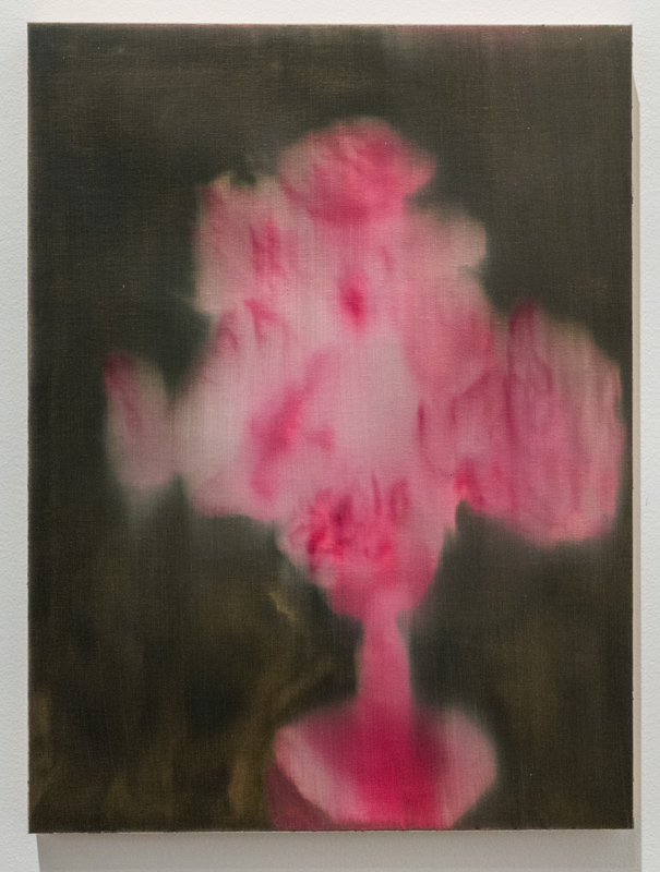 Wedding Bouquet (7) , 2013 – 2014 oil paint on linen, mounted to wood panel 16 x 12 x 1 inches