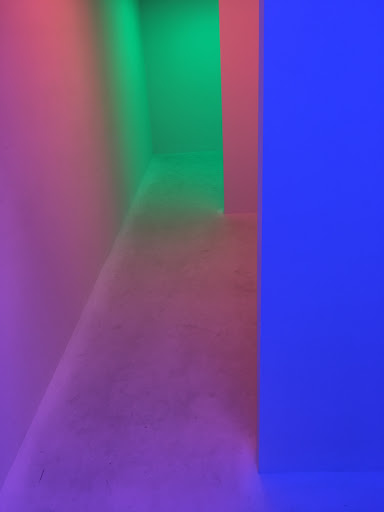 Carlos Cruz-Diez's Chroma, presented by the SCAD Museum of Art, in collaboration with Articruz and the Cruz-Diez Art Foundation, at UNTITLED 2017