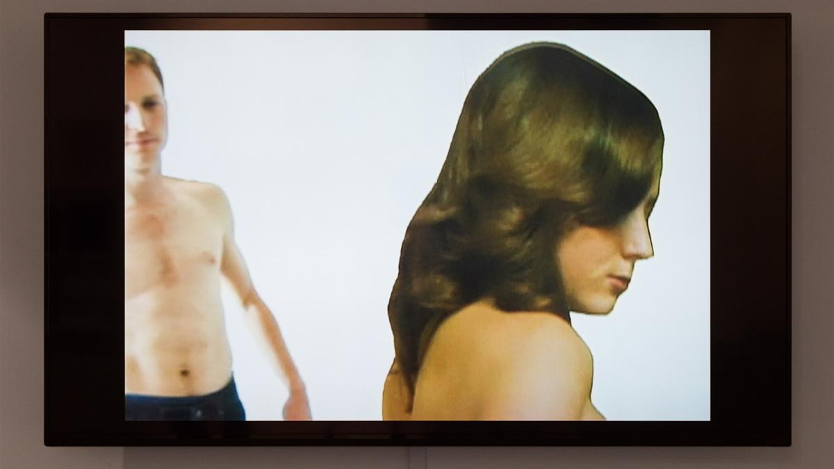 Two Women  (still), 2000 single-channel digital video run time 2min 20sec, edition of 5 + 2 AP