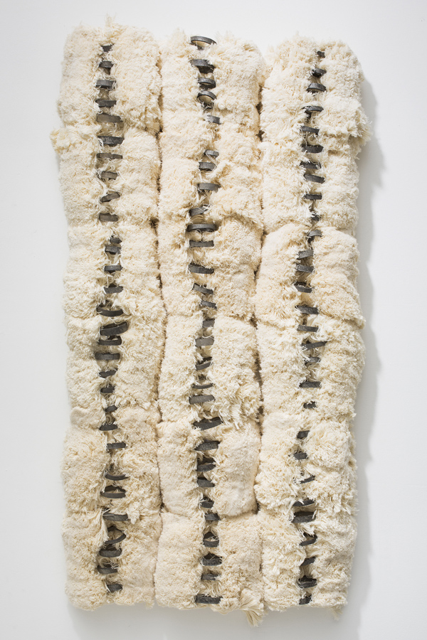 Reformed Spools , 2013 deconstructed thread spools 42 x 22 x 4 inches