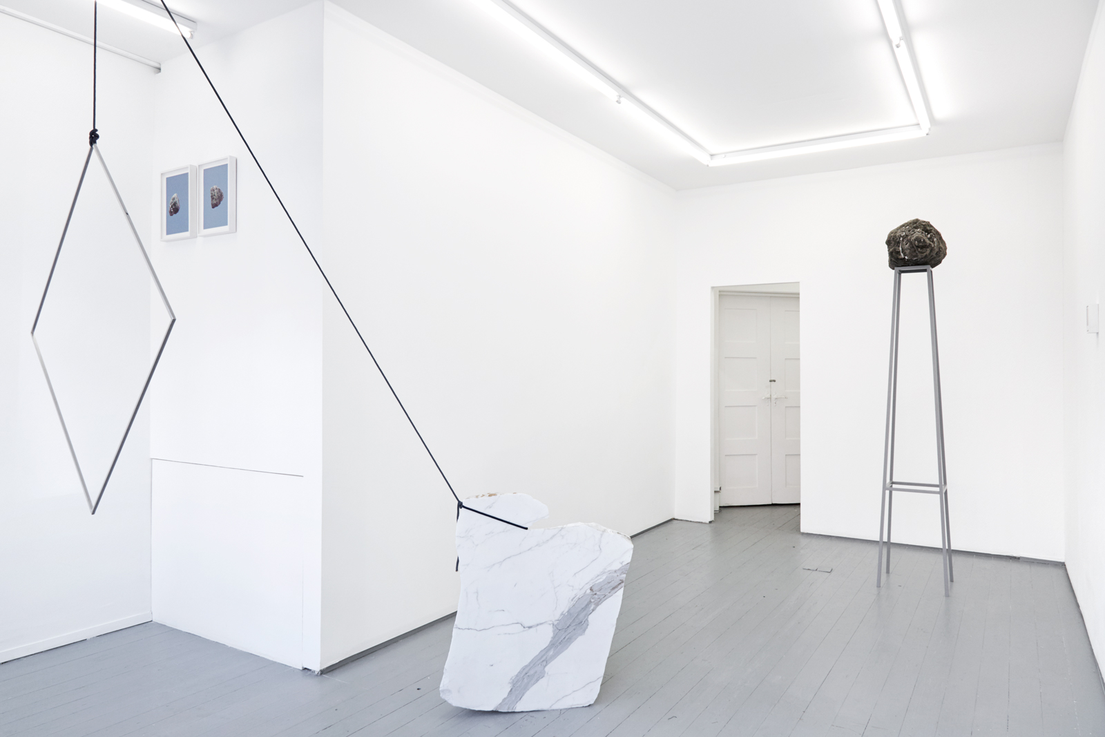 Amy Stephens,  Land | Reland [London] , William Benington Gallery, installation view, 2018