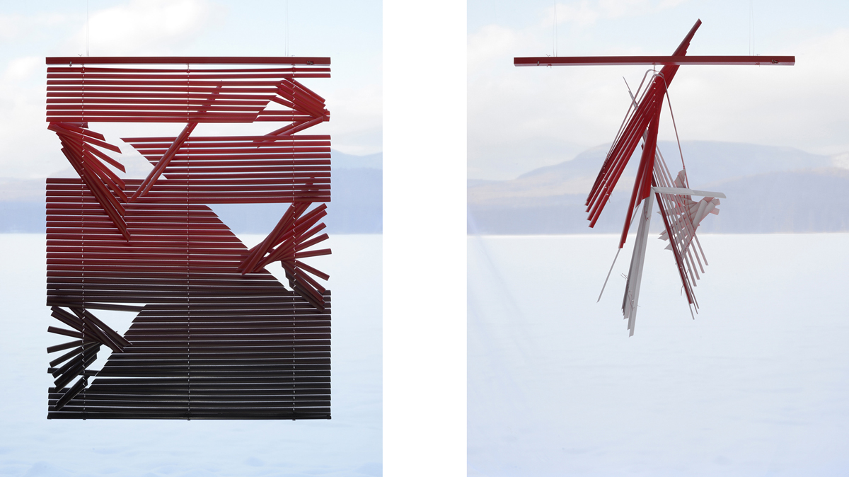 Untitled #33.2  and  Untitled #33.6 (Through Looking) , 2018 archival pigment prints 50 x 40 inches, edition of 3 + 2 AP (each) 30 x 24 inches, edition of 3 + 2 AP (each) 20 x 16 inches, edition of 3 + 2 AP (each)