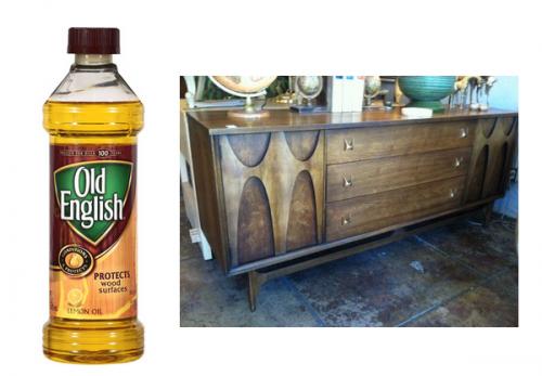 Old English Lemon Oil
