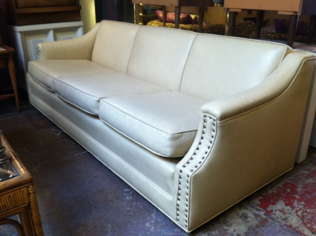 naugahyde sofa