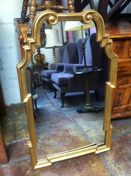 classic gold mirror