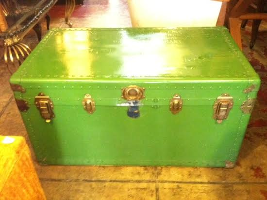 large mid century trunk