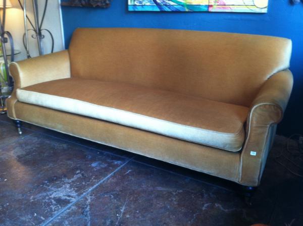 mohair sofa