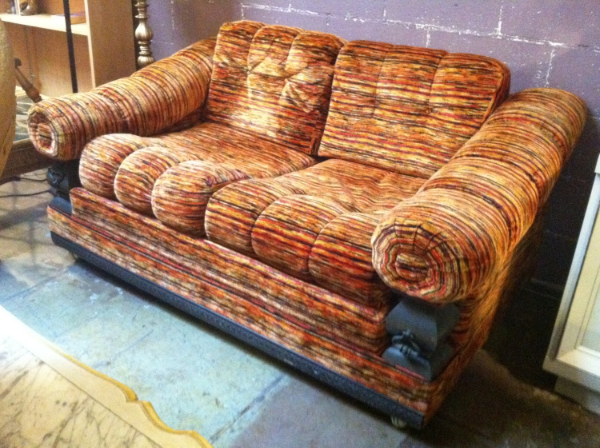 faux spanish sofa