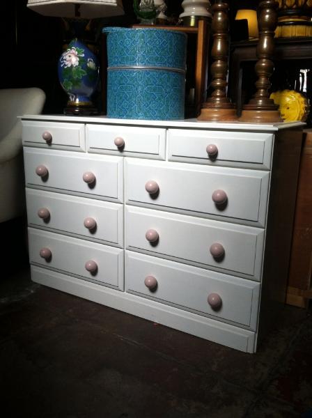 1970s 9 Drawer Dresser