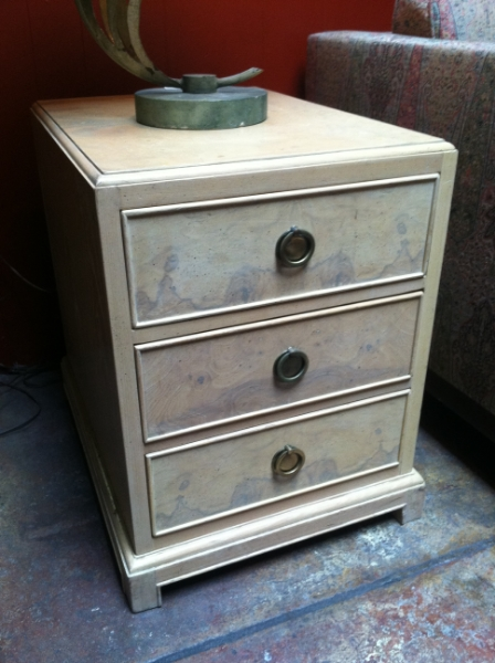 Pair of wood night stands