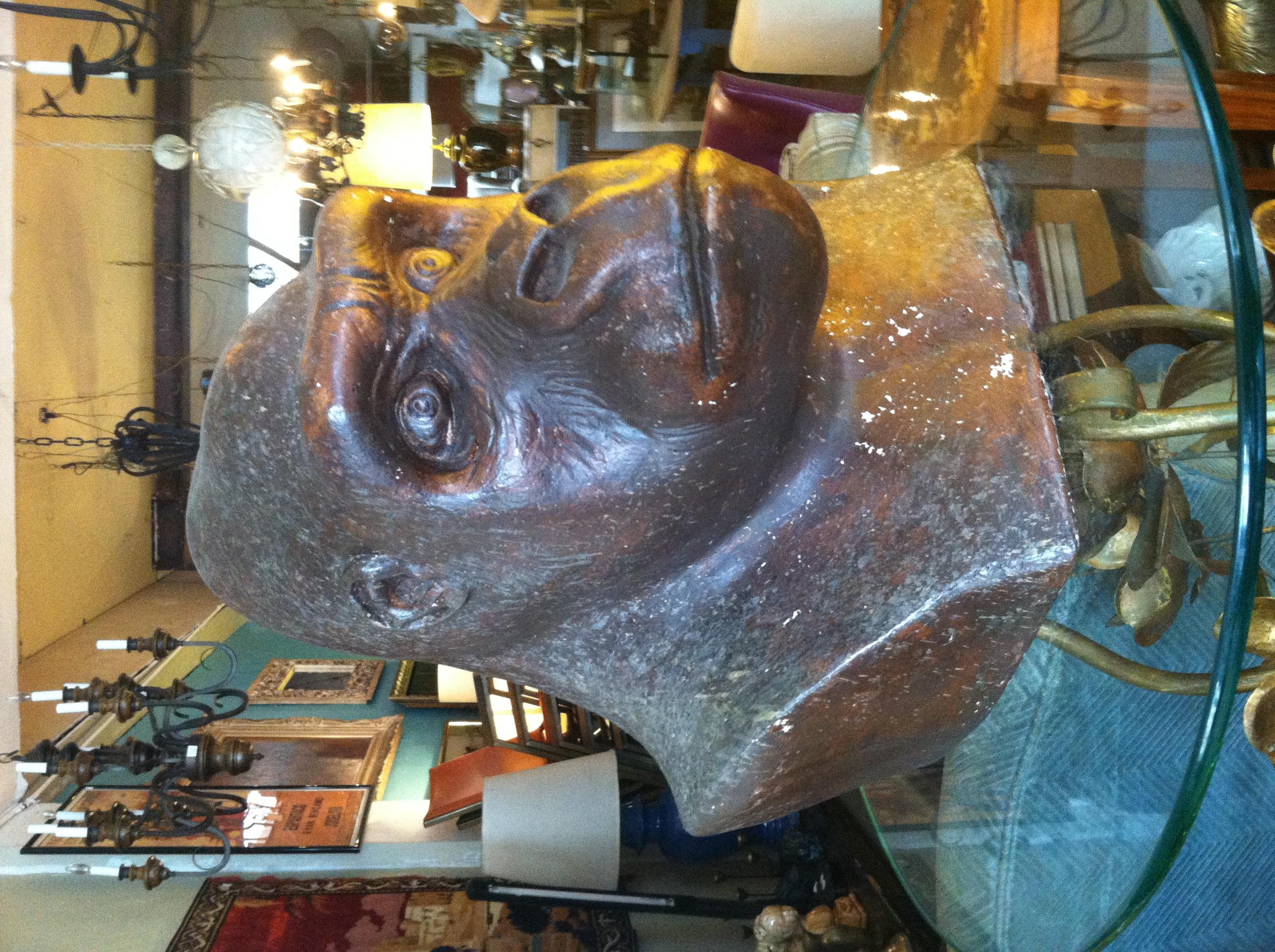 Vintage Gorilla Bust