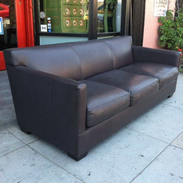 Leather Sofa by Cisco Brothers Furniture