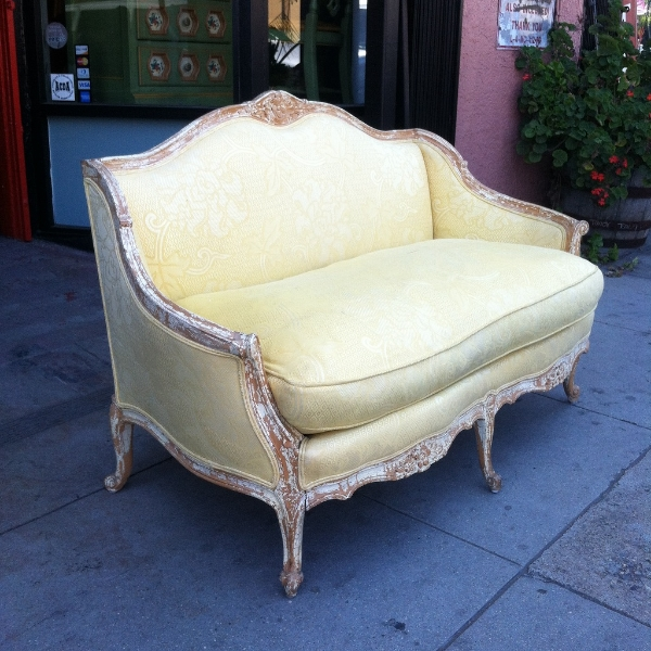 French Style Love Seat