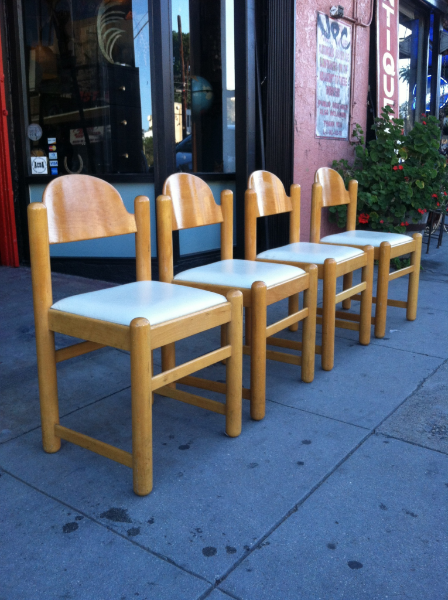 Set of 4 Modernist Dining Chairs