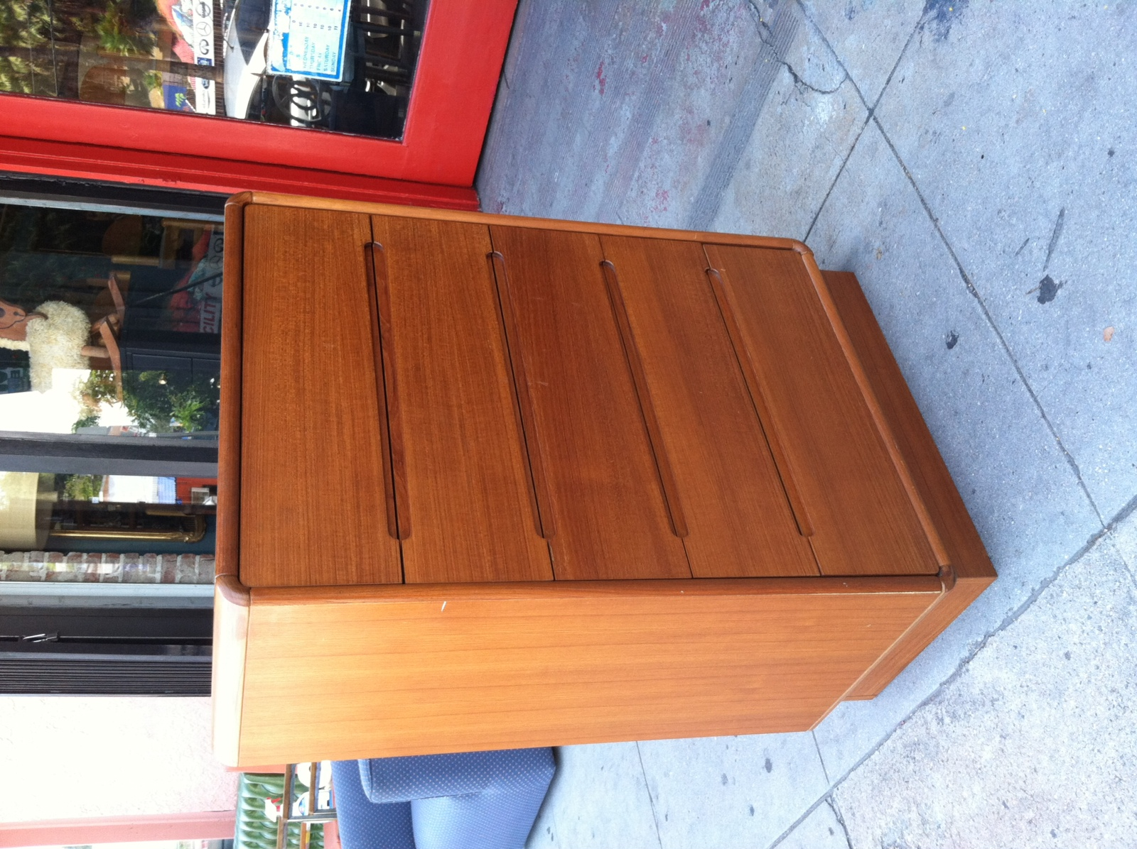 Tall Teak Dresser from Denmark
