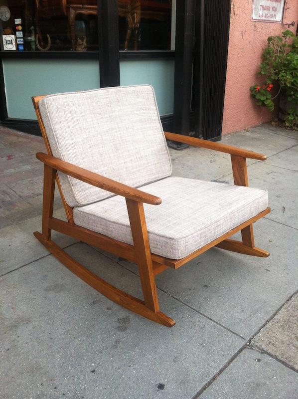 Mid-century Rocking Chair