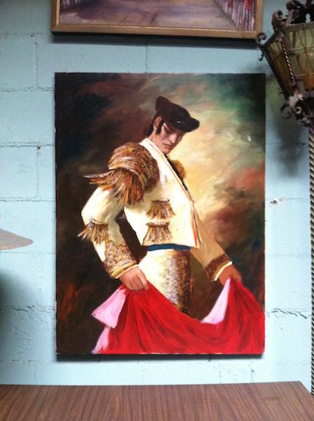 Large Matador Painting
