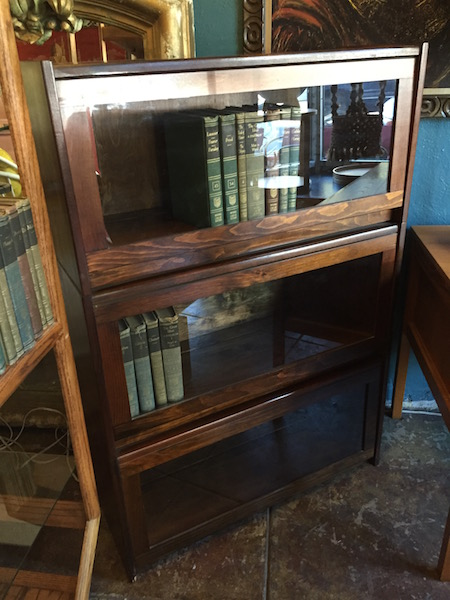 Vintage Lawyer's Bookcase