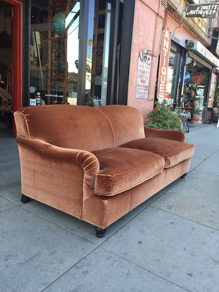 Custom Made Mohair Sleeper Sofa