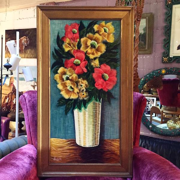 1965 Flowers in Vase Painting