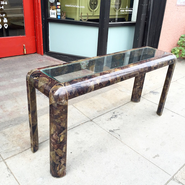 1980s Console Table by Maitland-Smith Co.