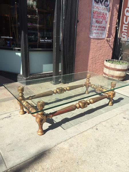 Vintage Spanish Revival Coffee Table