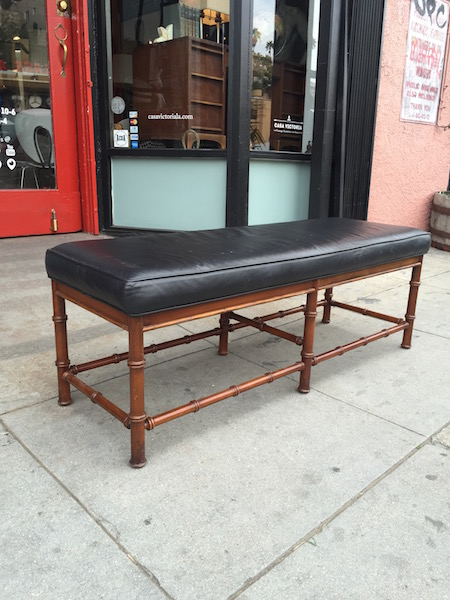 Custom Made Leather Bench (2 Sizes Available)