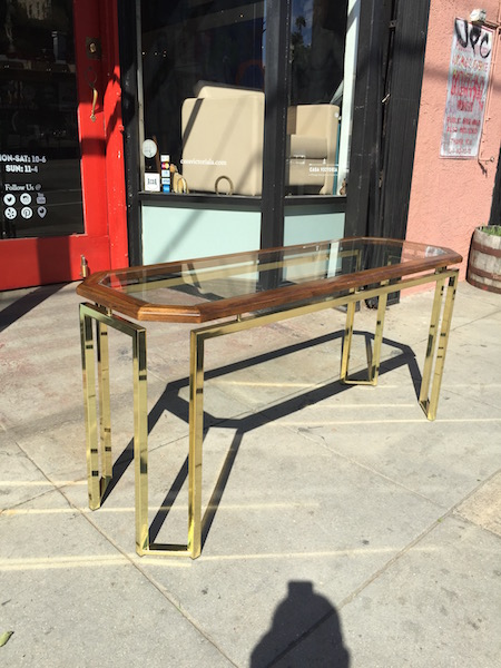 1970s Console Table