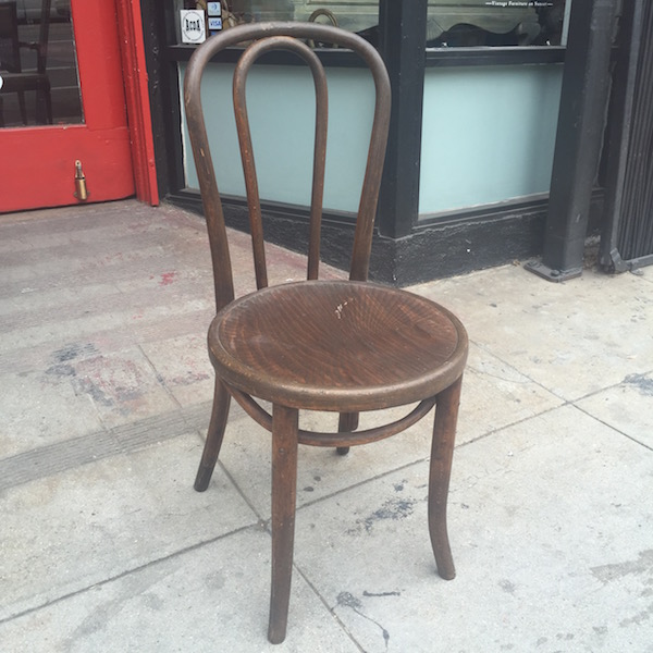 vintage chair by Thonet