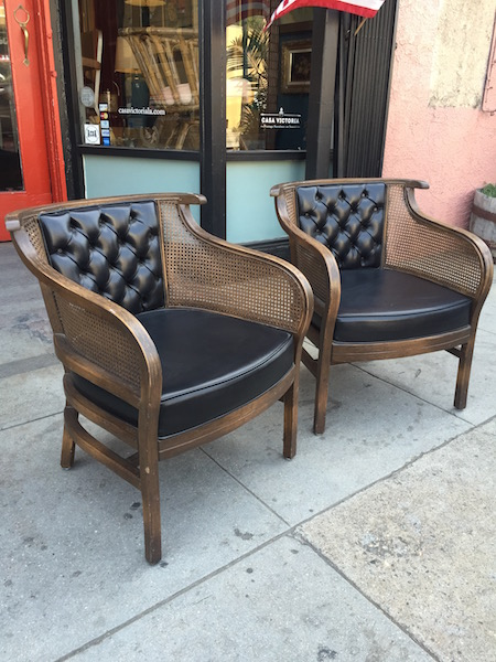 Asian Style modern club chairs