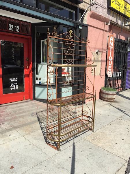 Vintage Bakers Rack