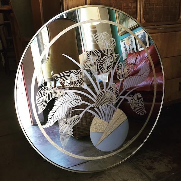 Round Deco Mirror