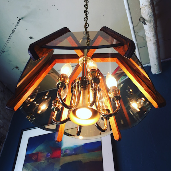 Pair of 1980s Spider Shaped Chandeliers