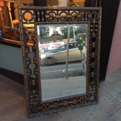 Mid-century Gilded Mirror