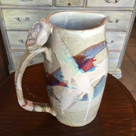 Vintage Stoneware Pitcher