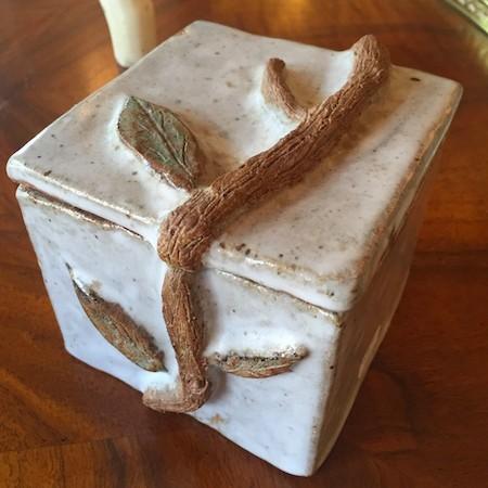 Vintage Stoneware Box