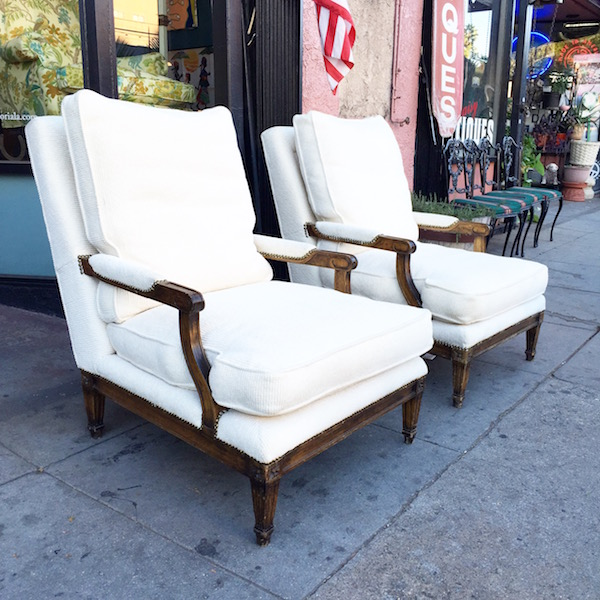 Large Santa Barbara Club Chairs