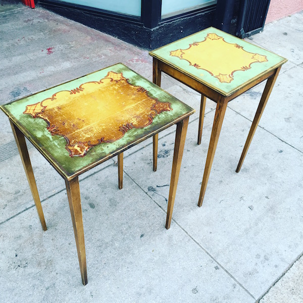 Pair of French-style Side Tables